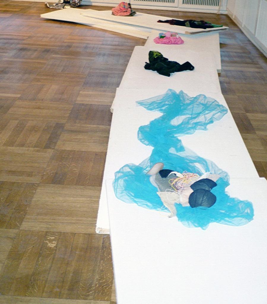 Heidi and Me-Interpretations, leyla rodriguez,  Diplom Exhibition at the Auditor